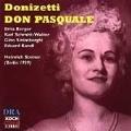Donizetti: Don Pasquale / Steiner, Berger, et al