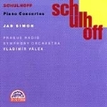 Schulhoff: Piano Concertos / Jan Simon, Vladimir Valek