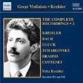 Fritz Kreisler - The Complete Recordings Vol.2