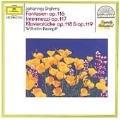 Brahms:Piano Pieces Op116-Op.119 (12/1963) / Wilhelm Kempff(p)