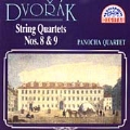 Dvorak: String Quartets no 8 & 9 / Panocha Quartet