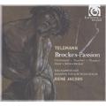 Telemann: Brockes Passion / Rene Jacobs, Akademie fur Alte Musik Berlin, RIAS Kammerchor, Birgitte Christensen, Daniel Behle, etc