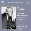 Bartok Plays Bartok - Contrasts BB.116, Rhapsody No.1 BB.94a, Mikrokosmos BB.105 (excerpts)