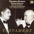 R.シュトラウス: 家庭交響曲、組曲「町人貴族」Op.60