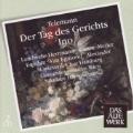 "Telemann: Der Tag des Gerichts, Cantata ""Ino"" / Nikolaus Harnoncourt(cond), Concentus Musicus Wien, Hamburg Monteverdi Choir, Vienna Boys' Choir. etc"
