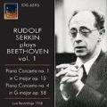 Beethoven: Piano Concertos No.1 Op.15, No.4 Op.58