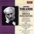 Beethoven: Missa Solemnis, Violin Concerto / Toscanini