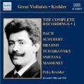 Fritz Kreisler - The Complete Recordings Vol.1