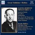 Jascha Heifetz Miniatures Vol.1