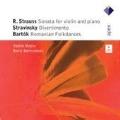 R.Strauss: Violin Sonata Op.18; Stravinsky: Divertimento; Bartok: Romanian Folkdances