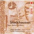 K.Stockhausen: Bass Clarinet & Piano -Tierkreis/Tanze Luzefa/In Freundschaft/etc (12/2005):Steffen Schleiermacher(p)/Volker Hemken(bass-clarinet)