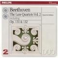 Beethoven: Late String Quartets, Vol.2