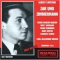 LORTZING:ZAR & ZIMMERMANN (1951):ALEXANDER HAFNER(cond)/FRANKFURT RSO/MARIA MADLEN-MADSEN(S)/ETC
