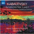カバレフスキー: 交響曲第1番&第2番