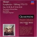 Mozart: Symphonies - Salzburg 1772 - 1773