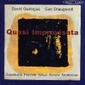 Quasi Improvisata -Gubaidulina/Pizzolla/Sumera/etc:David Geringas(vc)/Geir Draugsvoll(bajan)