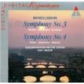 Mendelssohn: Symphony No.3, 4