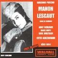 PUCCINI:MANON LESCAUT (IN GERMAN:1954:KOLN):O.ACKERMANN(cond)/KOLN RSO/A.SCHLEMM(S)/H.HOPF(T)/ETC