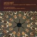 Mozart: Divertimento K.251, Concerto for 2 Pianos K.365, Symphony No.40 K.550