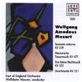 Mozart: Serenata Notturna KV.239, Maurerische Trauermusik KV.477, etc