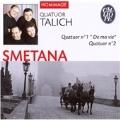 """Smetana: String Quartets No.1 """"From My Life"""", No.2; Fibich: String Quartet No.1 / Talich Quartet"""