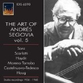 The Art of Andres Segovia Vol.5 - Sanz, D.Scarlatti, Haydn, etc