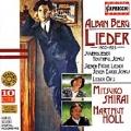 Berg: Lieder, 1900-1925 / Mitsuko Shirai, Helmut Holl