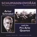 Schumann: Piano Quintet in Eb, Op. 44; Dvorak: Piano Quintet in A, Op. 81