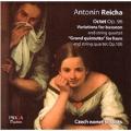 A.Reicha: Octet Op.96, Variations for Bassoon, Grand Quintetto Op.106  / Czech Nonet Soloists, Vladimira Klanska(hrn), Pavel Langpaul(fg)