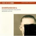 Shostakovich: Symphony No.4 Op.43 (5/8-11,13/2008/Live)  / Bernard Haitink(cond), CSO [CD+DVD]