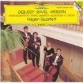 Debussy/Ravel/Webern: String Quartets