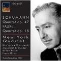 Schumann: Piano Quartet Op.47; Faure: Piano Quartet Op.15