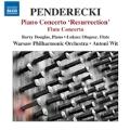 "Penderecki: Piano Concerto ""Resurrection"" & Flute Concerto"