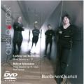 ベートーヴェン: 弦楽四重奏曲第16番、シューマン: 弦楽四重奏曲第1番、第2番 [SACD Hybrid+DVD(PAL)]