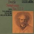 Dvorak: Symphonies nos 1-3 / Neumann, Czech PO