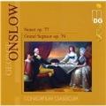 Onslow: Nonet Op.77, Grand Septuor Op.79 (3,12/2006) / Consortium Classicum