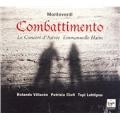 MONTEVERDI :MADRIGALI GUERRIERI ET AMOROSO :EMMANUELLE HAIM(cond)/LE CONCERT D'ASTREE/ROLANDO VILLAZON(T)/ETC [CD+DVD]