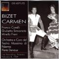 Bizet: Carmen (in Italian) / Pierre Dervaux, Orchestra & Coro del Teatro Massimo de Palermo, Giulietta Simionato, Franco Corelli, etc