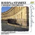 Haydn & Stamitz: 3 Sinfonie Concertanti / Ross Pople