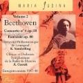 Beethoven: Piano Concerto no 4, Choral Fantasy / Yudina