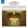 Cimarosa: Overtures Vol.3