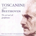 Toscanini conducts Beethoven - Symphonies no 3 & 5 / NBC SO