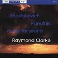Shostakovich: Five Preludes from Op.2, Three Fantastic Dances, Op.5, Ten Aphorisms Op.13; Panufnik:Pentasonata, Reflections, Twelve Miniature Studies - Music for Piano / Raymond Clarke(p)