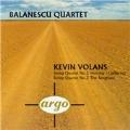 Volans: String Quartet 2, 3