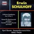 Schulhoff: Symphonies no. 2 & 3, Concerto / Israel Yinon