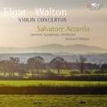 サルヴァトーレ・アッカルド/Violin Concertos - Elgar, W.Walton [BRL9173]