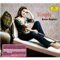 Simply Anne-Sophie -Vivaldi/Mozart/Beethoven/etc (+DV/+photo gallery & discography):Anne-Sophie Mutter(vn)/Trondheim Soloists/LSO/etc [CD+DVD]