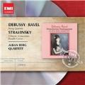 Debussy: String Quartet Op.10; Ravel: String Quartet; Stravinsky: 3 Pieces for String Quartet, etc