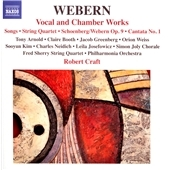 ロバート・クラフト (Conductor)/Webern: Vocal and Chamber Works; Schoenberg: Chamber Symphony No.1[8557516]