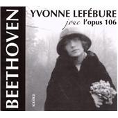 イヴォンヌ・ルフェビュール/ベートーヴェン: ピアノ・ソナタ第32番、第29番「ハンマークラヴィーア」、ウェーバー: 舞踏への勧誘 Op.65[SOCD238]